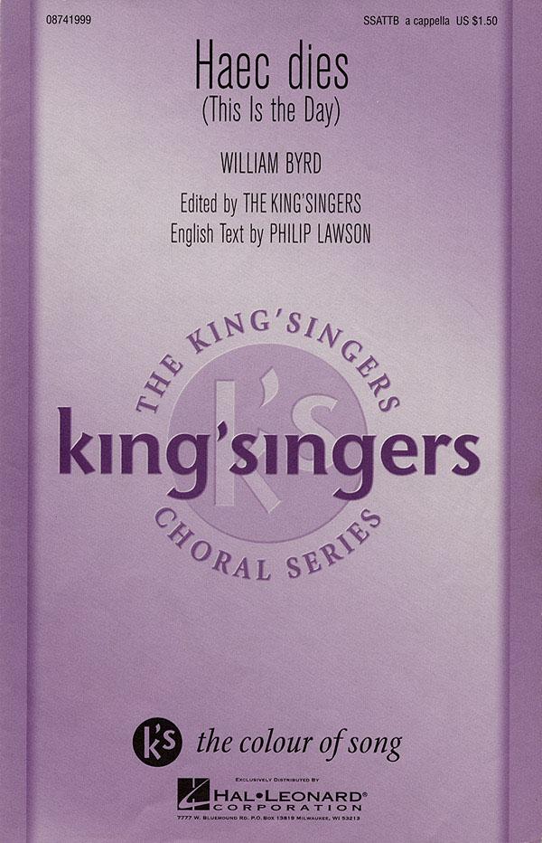 The King's Singers: Haec Dies: SATB: Vocal Score