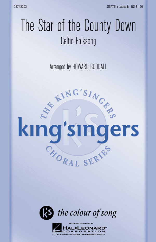 The King's Singers: The Star of the County Down: SATB: Vocal Score