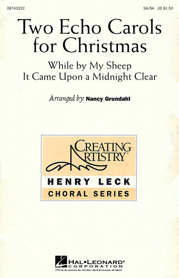 Two Echo Carols for Christmas: 2-Part Choir: Vocal Score