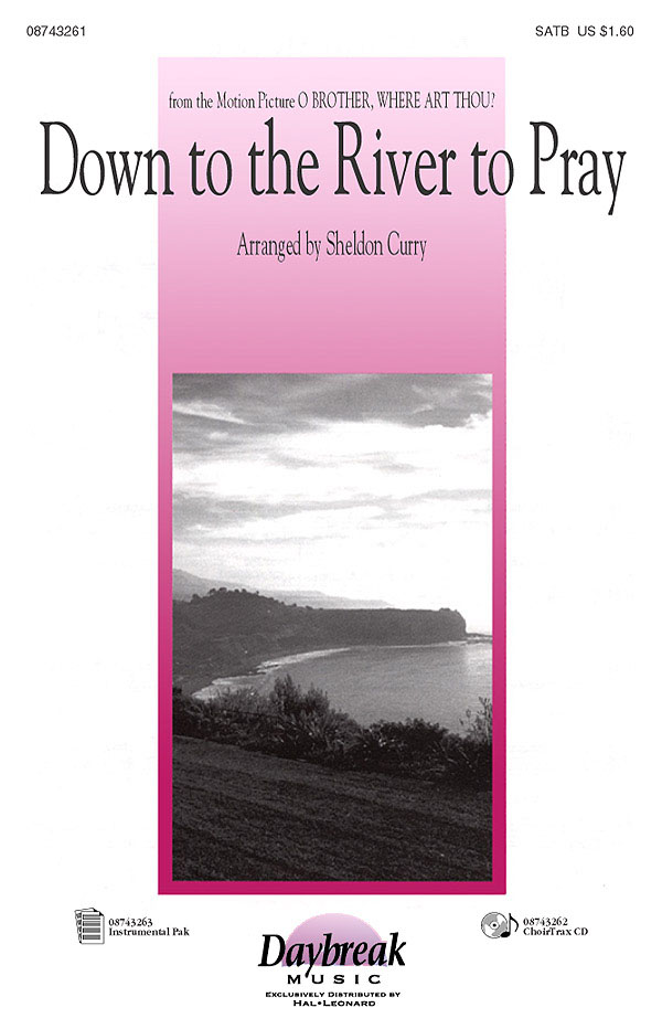 Down to the River to Pray: SATB: Vocal Score