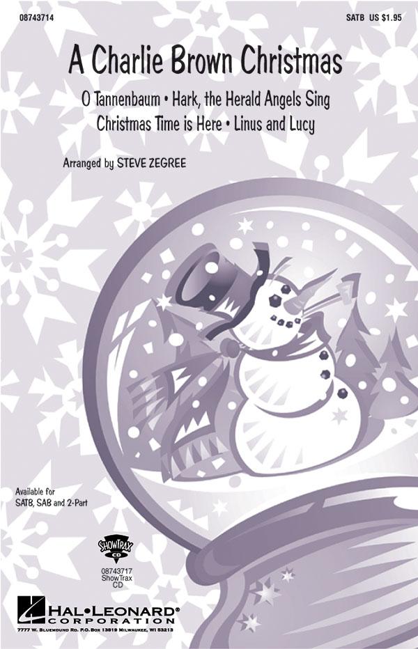 A Charlie Brown Christmas (Medley): SATB: Vocal Score