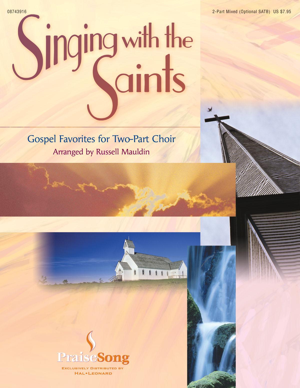 Singing with the Saints: 2-part Choir: Score