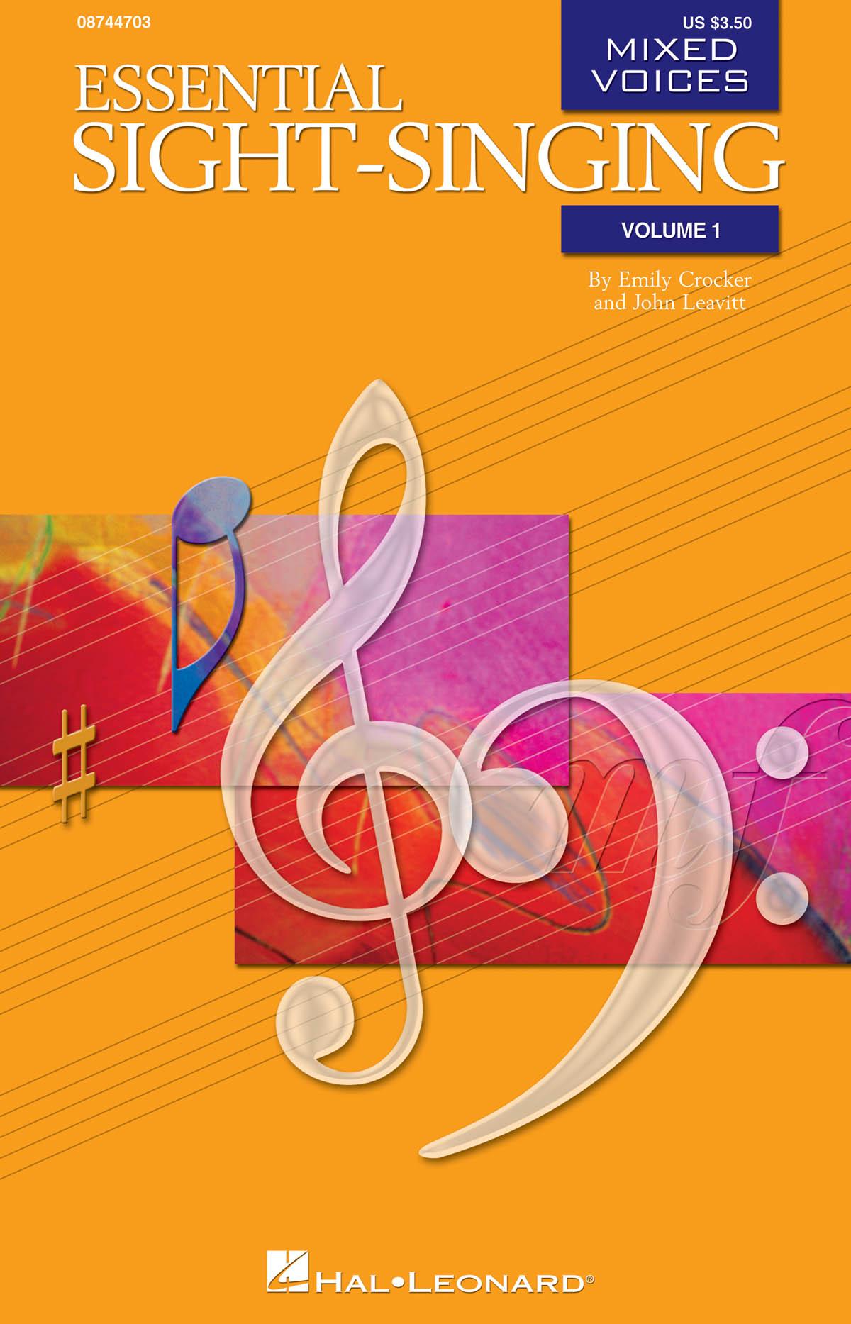 Essential Sight-Singing Vol. 1 Mixed Voices: SATB: Vocal Score