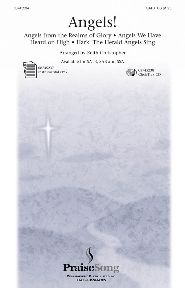 Angels! (SATB): SATB: Vocal Score