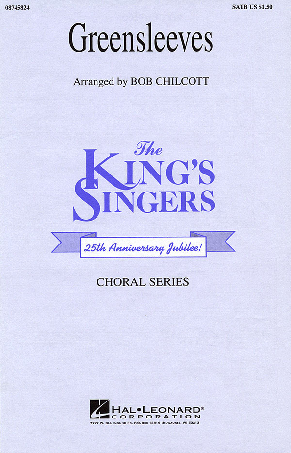 The King's Singers: Greensleeves: SATB: Vocal Score