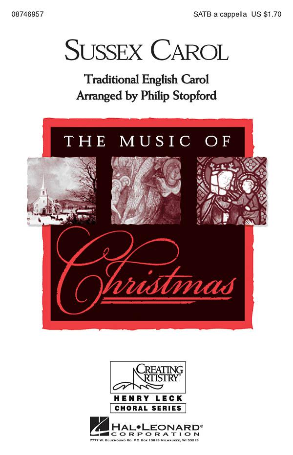 Sussex Carol: SATB: Vocal Score