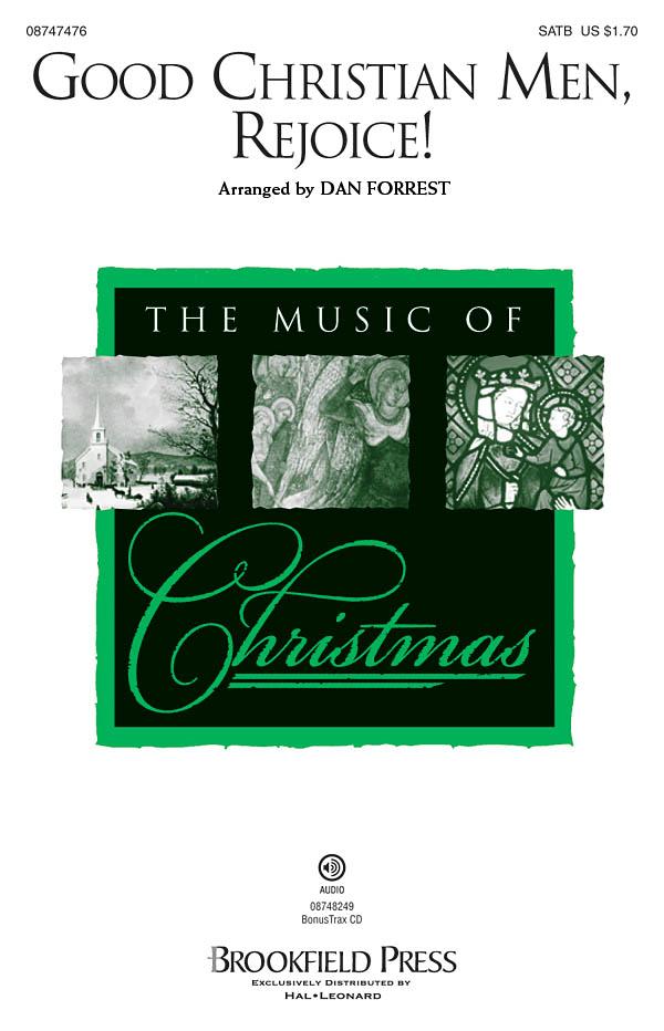 Good Christian Men  Rejoice!: SATB: Vocal Score