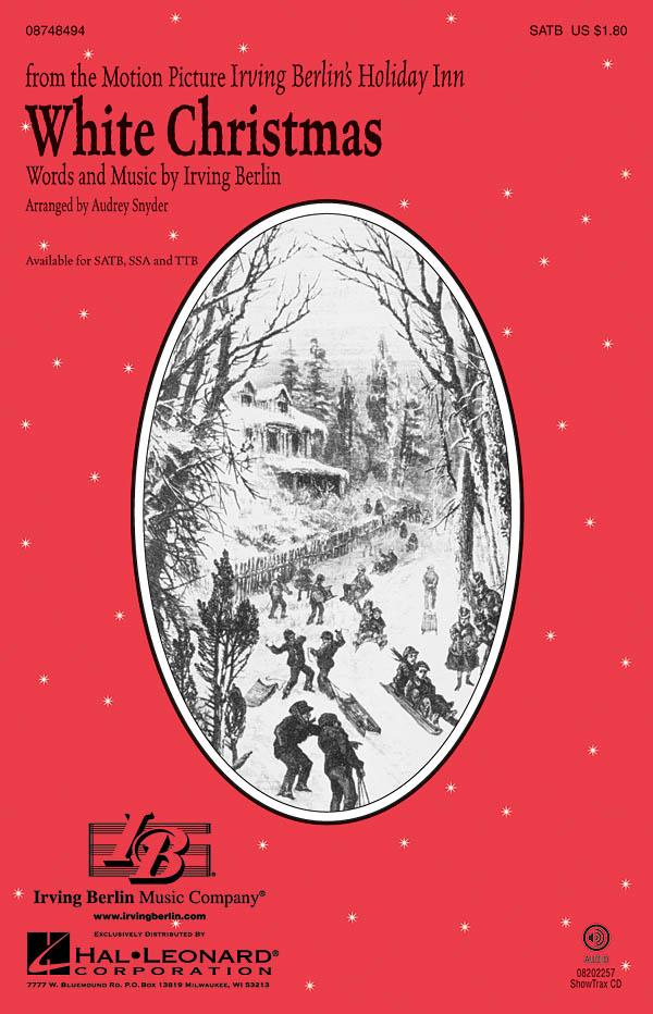Irving Berlin: White Christmas: SATB: Vocal Score