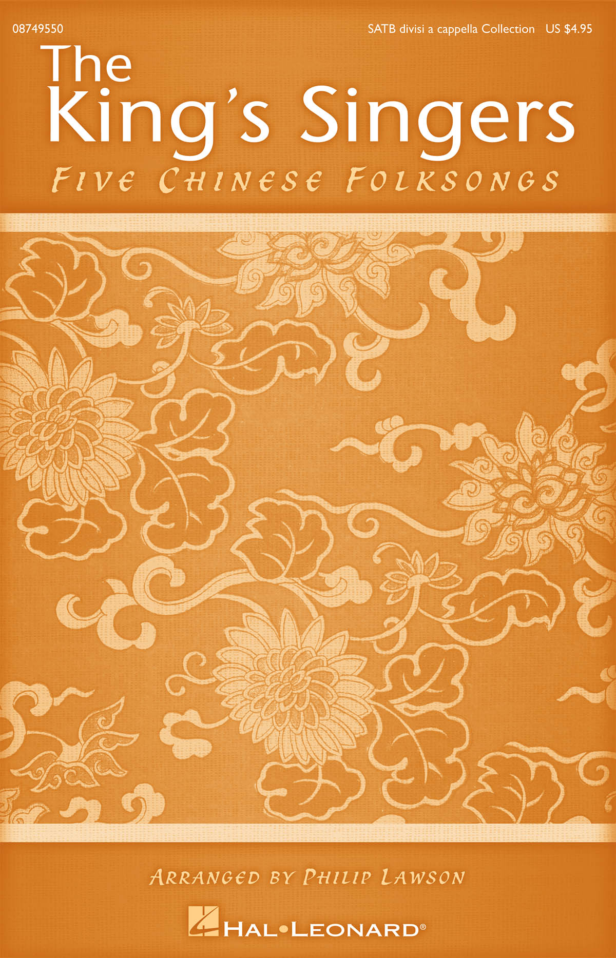 The King's Singers: Five Chinese Folksongs: SATB: Vocal Score