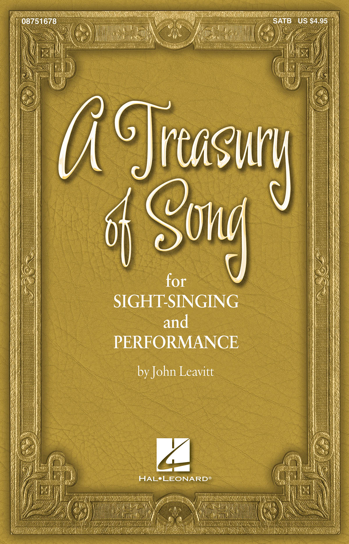 A Treasury Of Song: SATB: Vocal Score