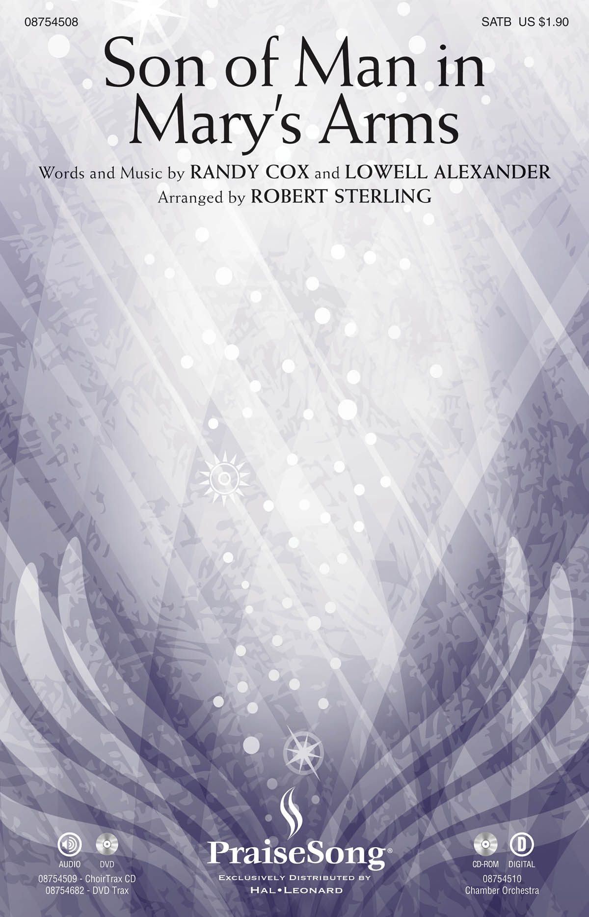 Lowell Alexander Randy Cox: Son of Man in Mary's Arms: SATB: Vocal Score
