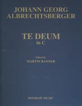 Johann Georg Albrechtsberger: Te Deum in C - Full Score and Parts: Mixed Choir: