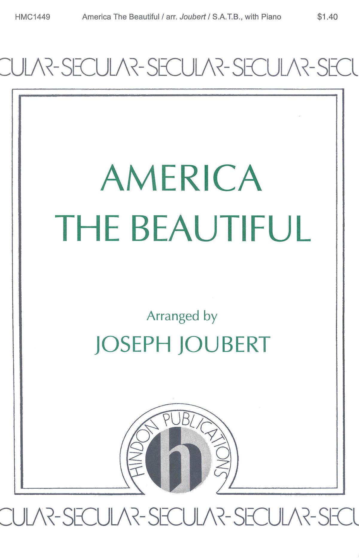 Samuel A. Ward: America The Beautiful: SATB: Vocal Score