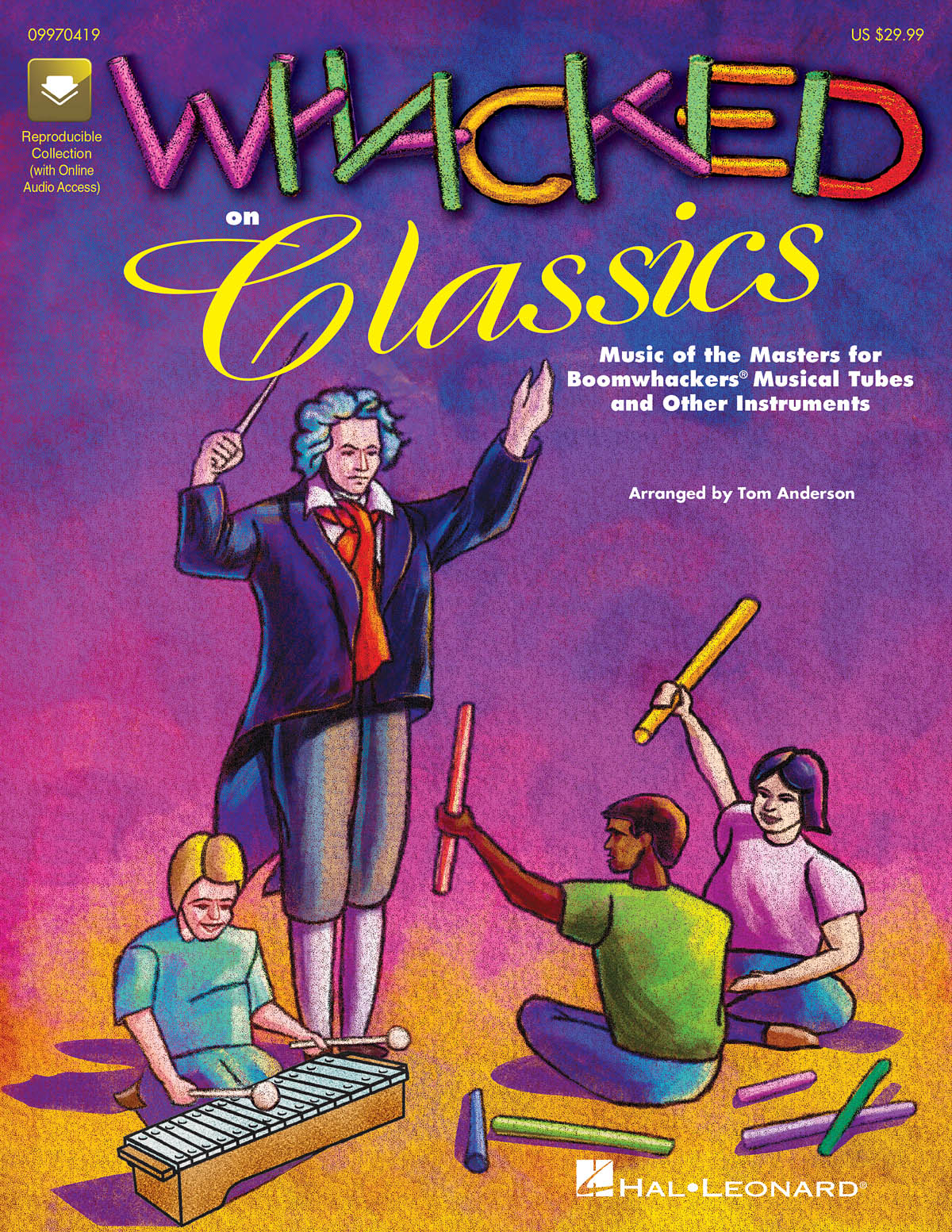 Tom Anderson: Whacked on Classics (Collection): Ensemble: Vocal Score