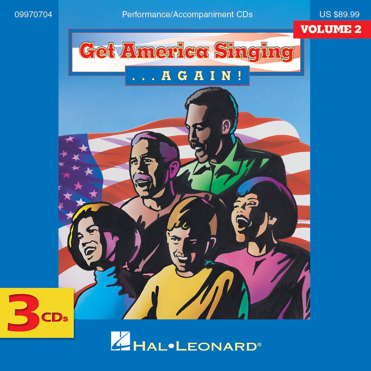 Get America Singing Again Vol 2 Complete 3-CD Set: Mixed Choir: CD