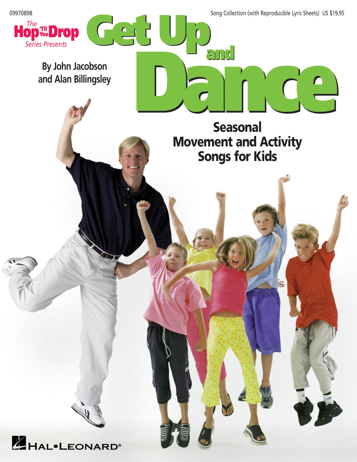 John Jacobson: Get Up and Dance: Vocal: Classroom Musical