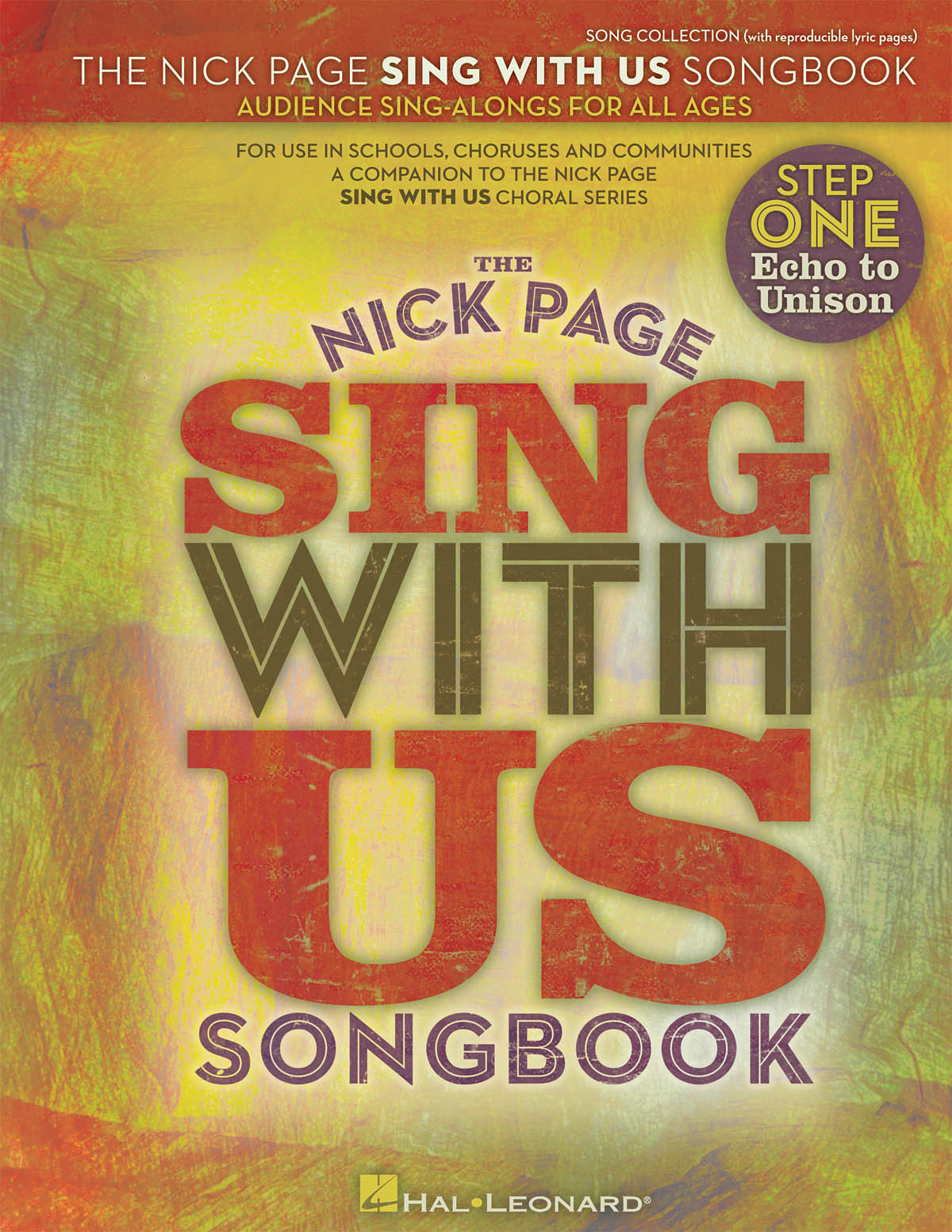 Nick Page: Nick Page Sing With Us Songbook: Voice: Vocal Album