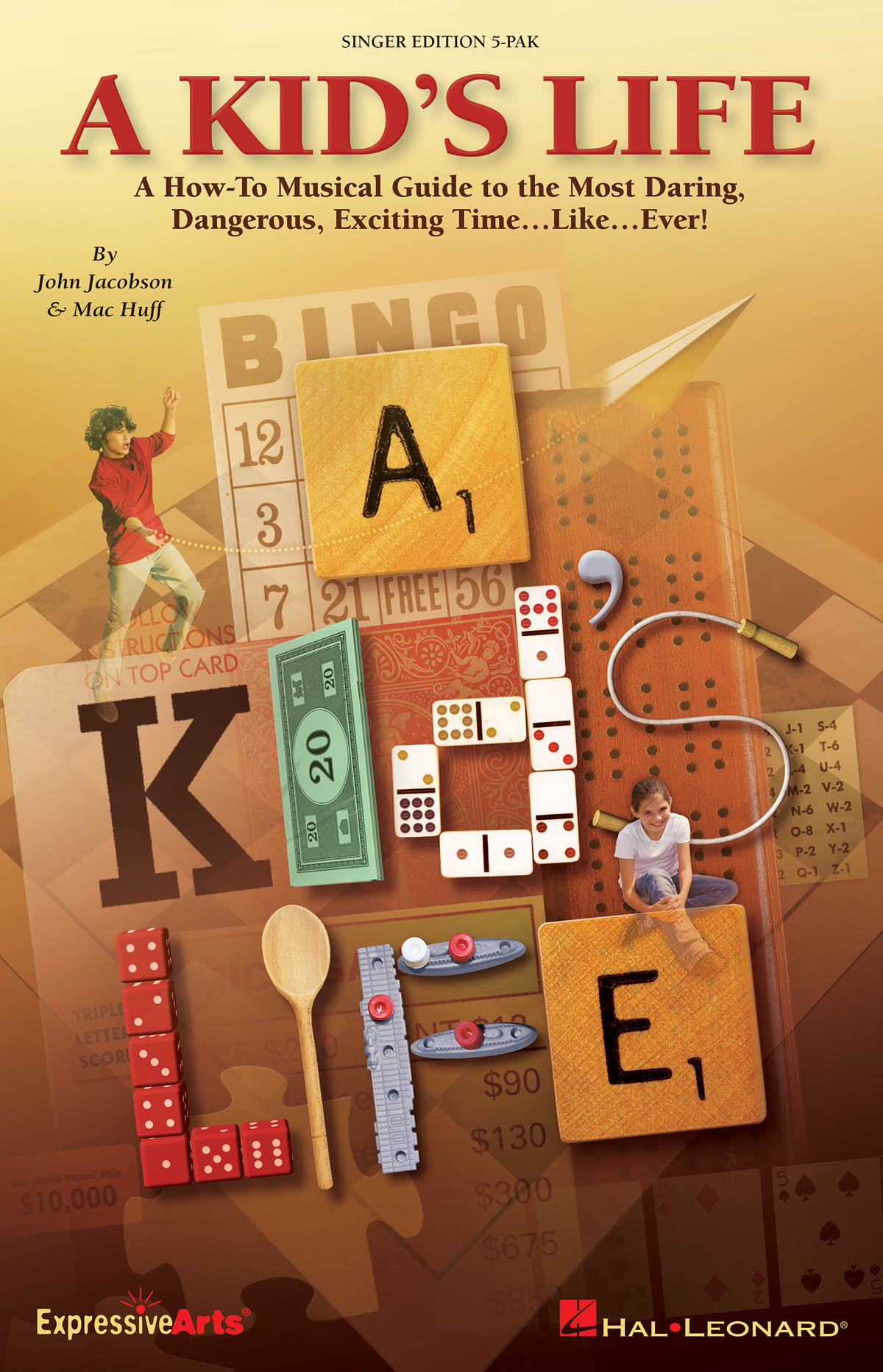 John Jacobson Mac Huff: A Kid's Life: Mixed Choir: Parts