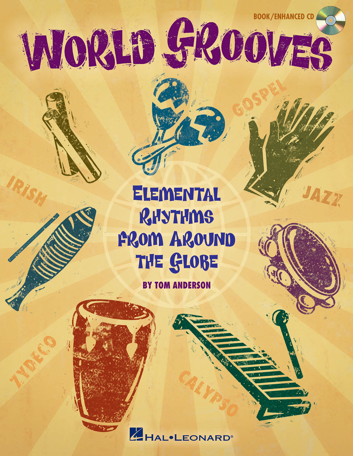 Tom Anderson: World Grooves: Percussion: Instrumental Album