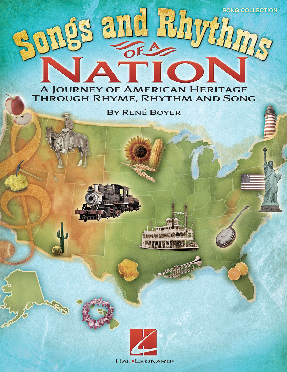 Rene Boyer: Songs and Rhythms of a Nation: Mixed Choir: Parts