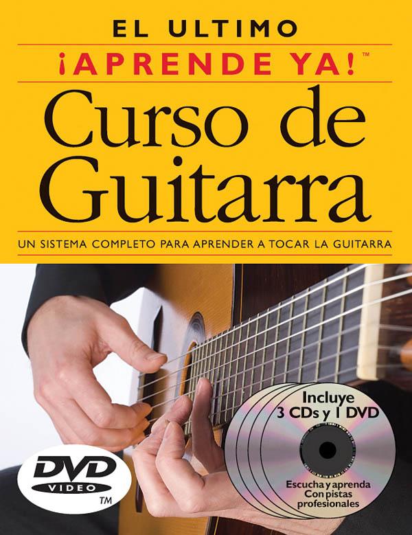 Aprende Ya! Curso de Guitarra: Guitar: Book  CD & DVD