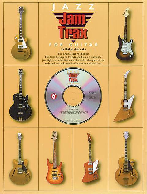 Jam Trax: Jazz: Guitar: Book & CD