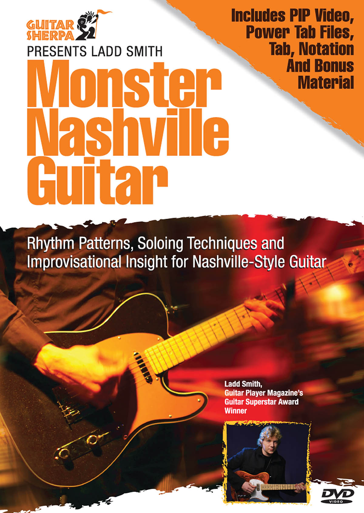 Monster Nashville Guitar: Guitar: Instrumental Tutor