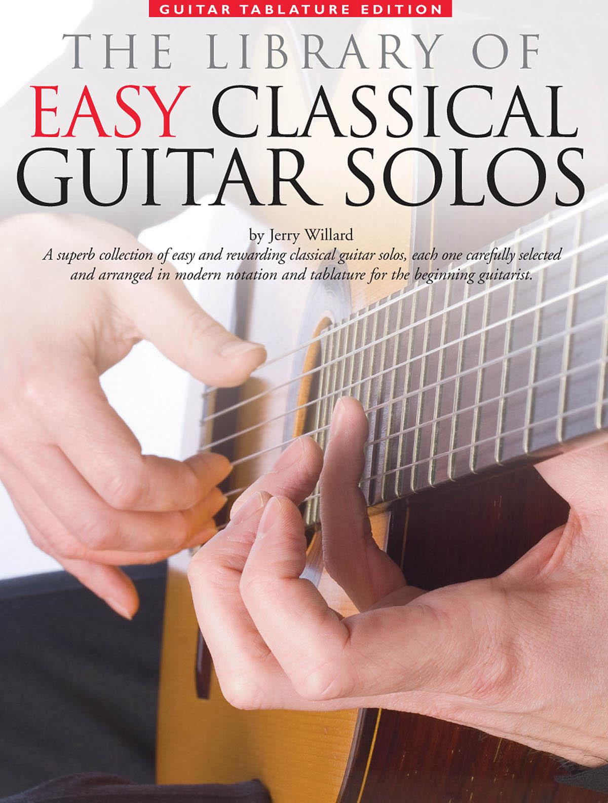 Library of Easy Classical Guitar Solos: Guitar: Instrumental Album