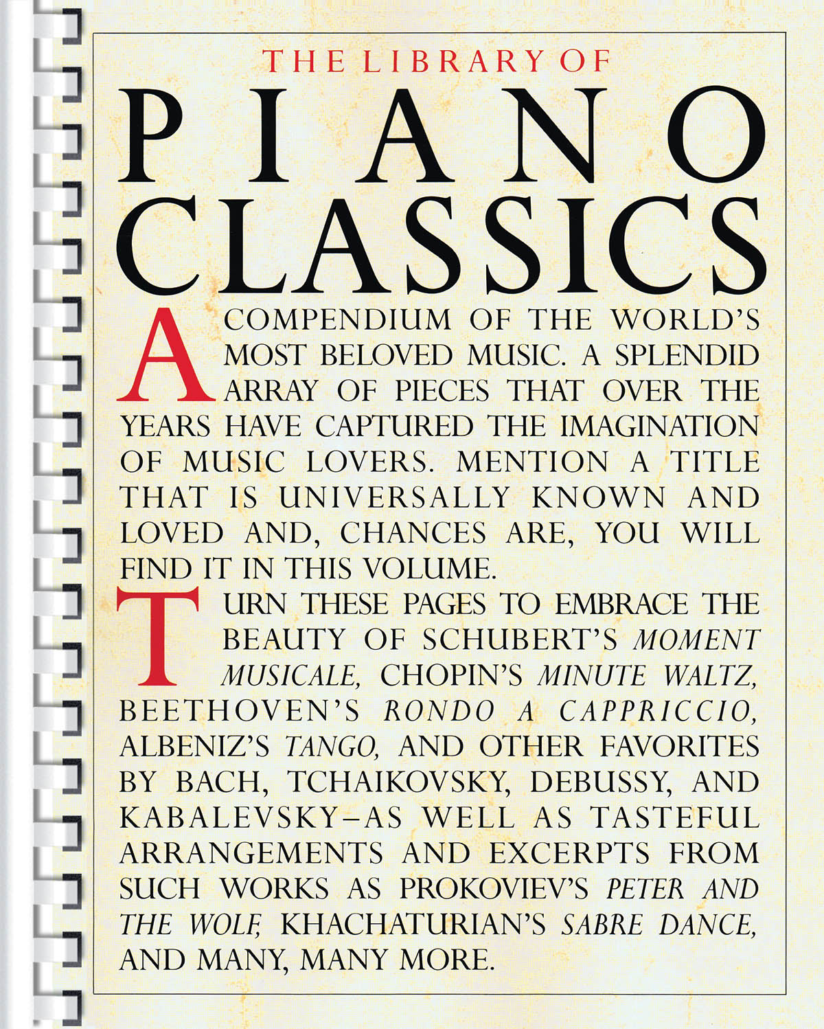 Library of Piano Classics: Piano: Instrumental Collection