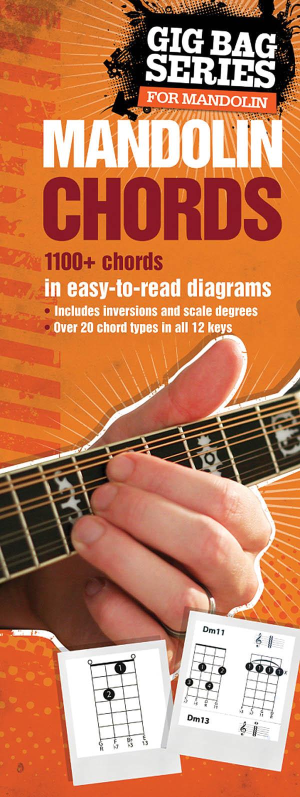 The Gig Bag Book of Mandolin Chords: Mandolin: Instrumental Reference
