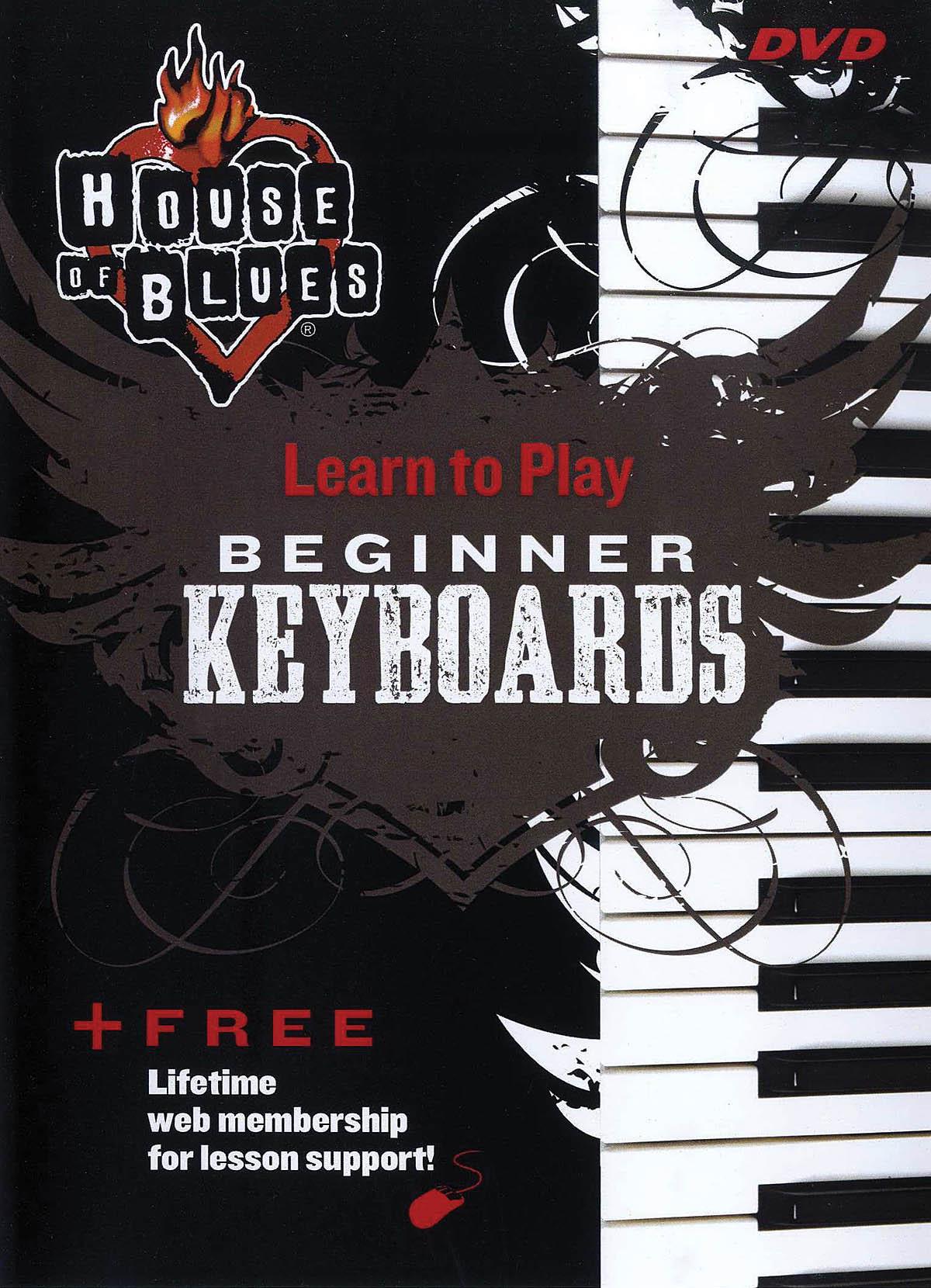 House of Blues - Beginner Keyboards: Keyboard: DVD
