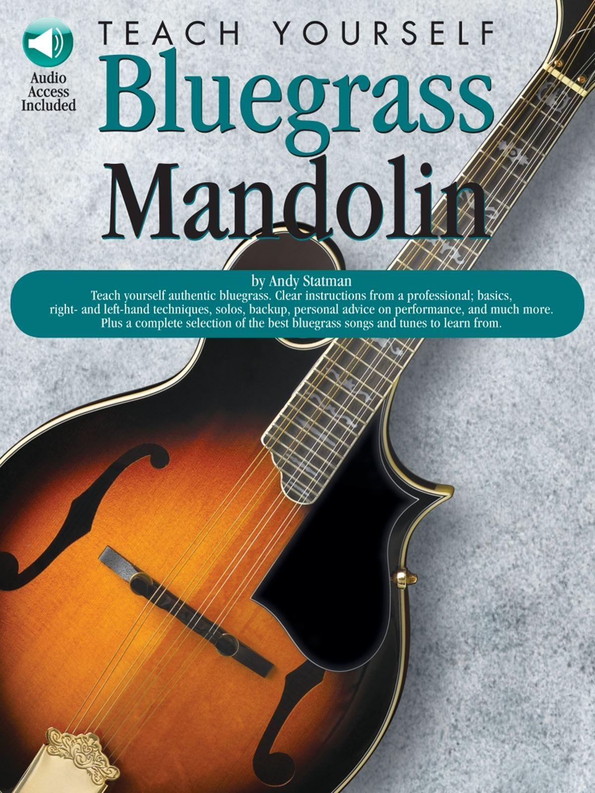 Teach Yourself Bluegrass Mandolin: Mandolin: Instrumental Tutor