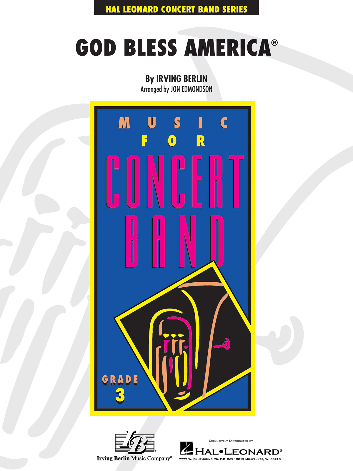 Irving Berlin: God Bless America: Concert Band: Score & Parts