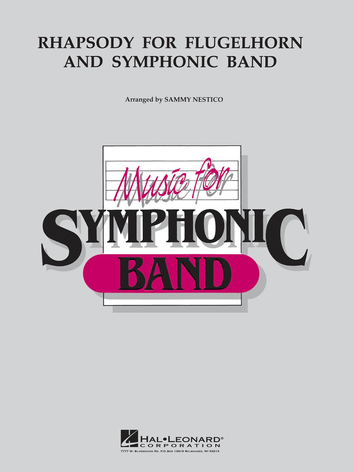 Sammy Nestico: Rhapsody for Flugelhorn and Symphonic Band: Flugelhorn: Score &