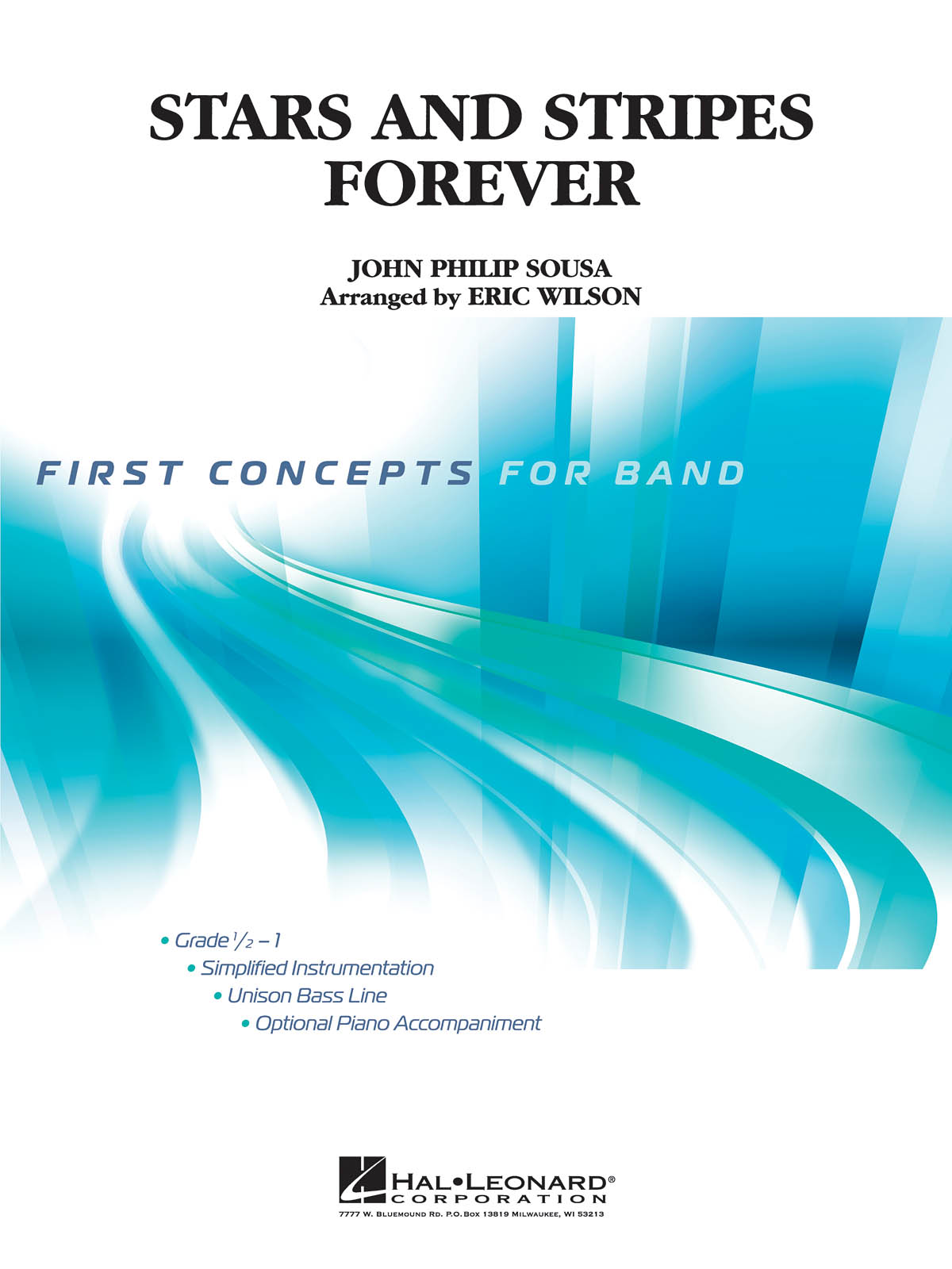 John Philip Sousa: Stars and Stripes Forever: Concert Band: Score and Parts