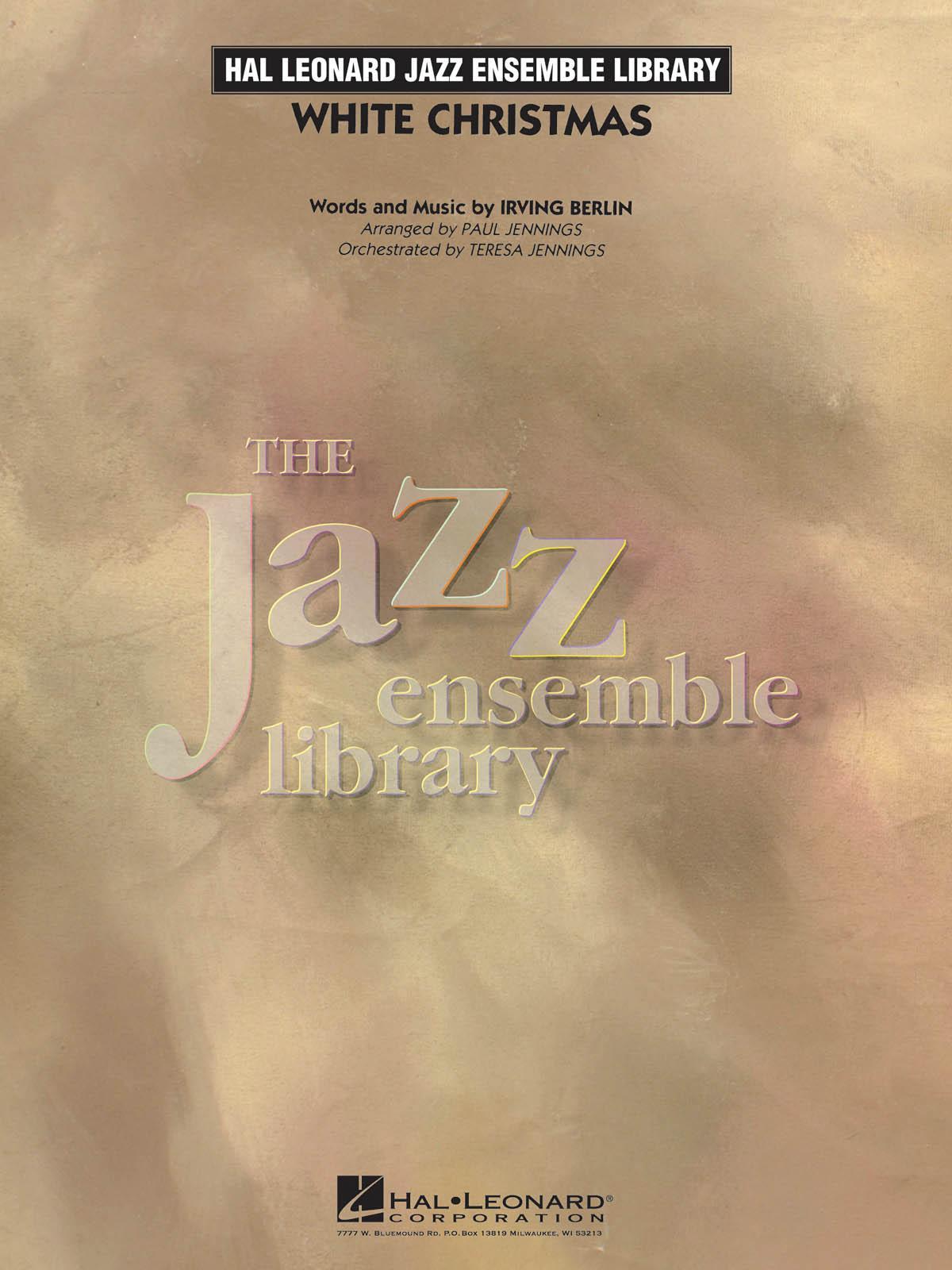 Irving Berlin: White Christmas: Jazz Ensemble: Score & Parts