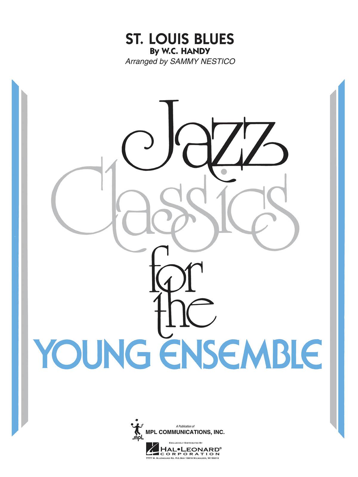 W.C. Handy: St. Louis Blues: Jazz Ensemble: Score