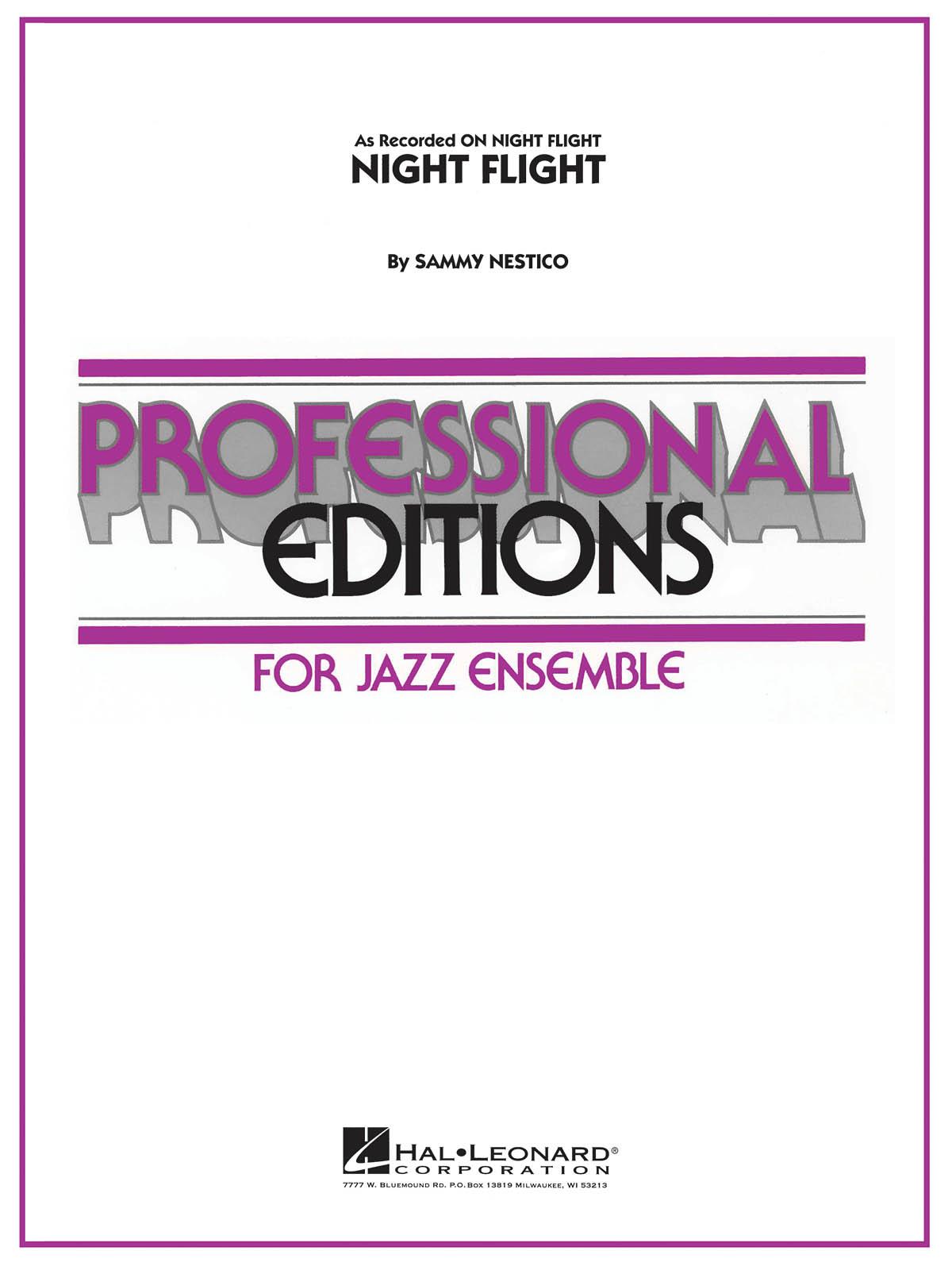 Sammy Nestico: Night Flight: Jazz Ensemble: Score & Parts