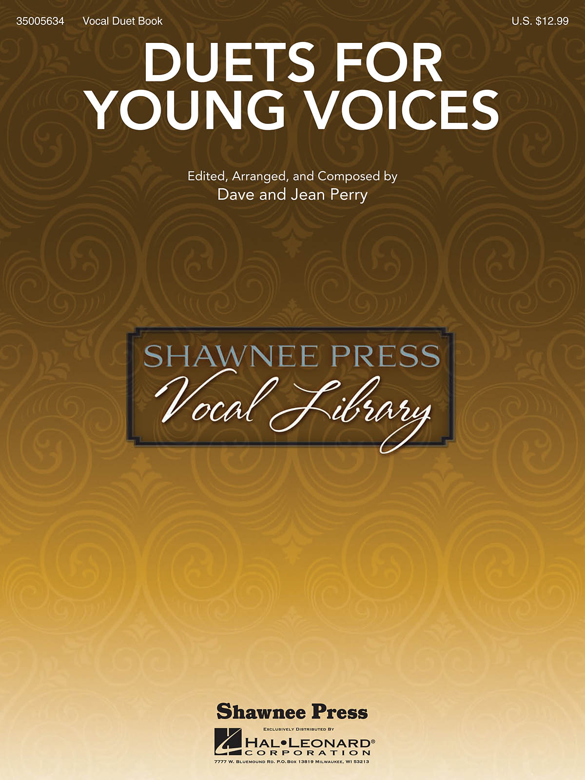 Dave Perry Jean Perry: Duets for Young Voices: Voice: Mixed Songbook