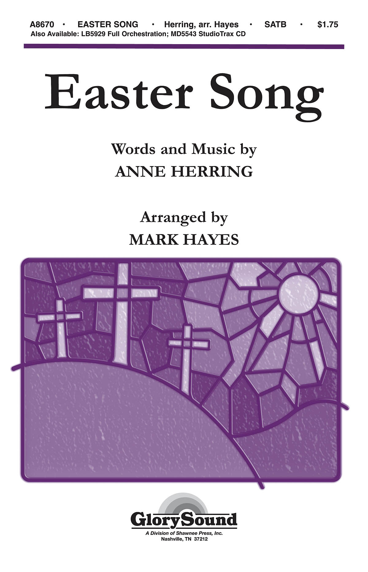 Anne Herring: Easter Song: SATB: Vocal Score
