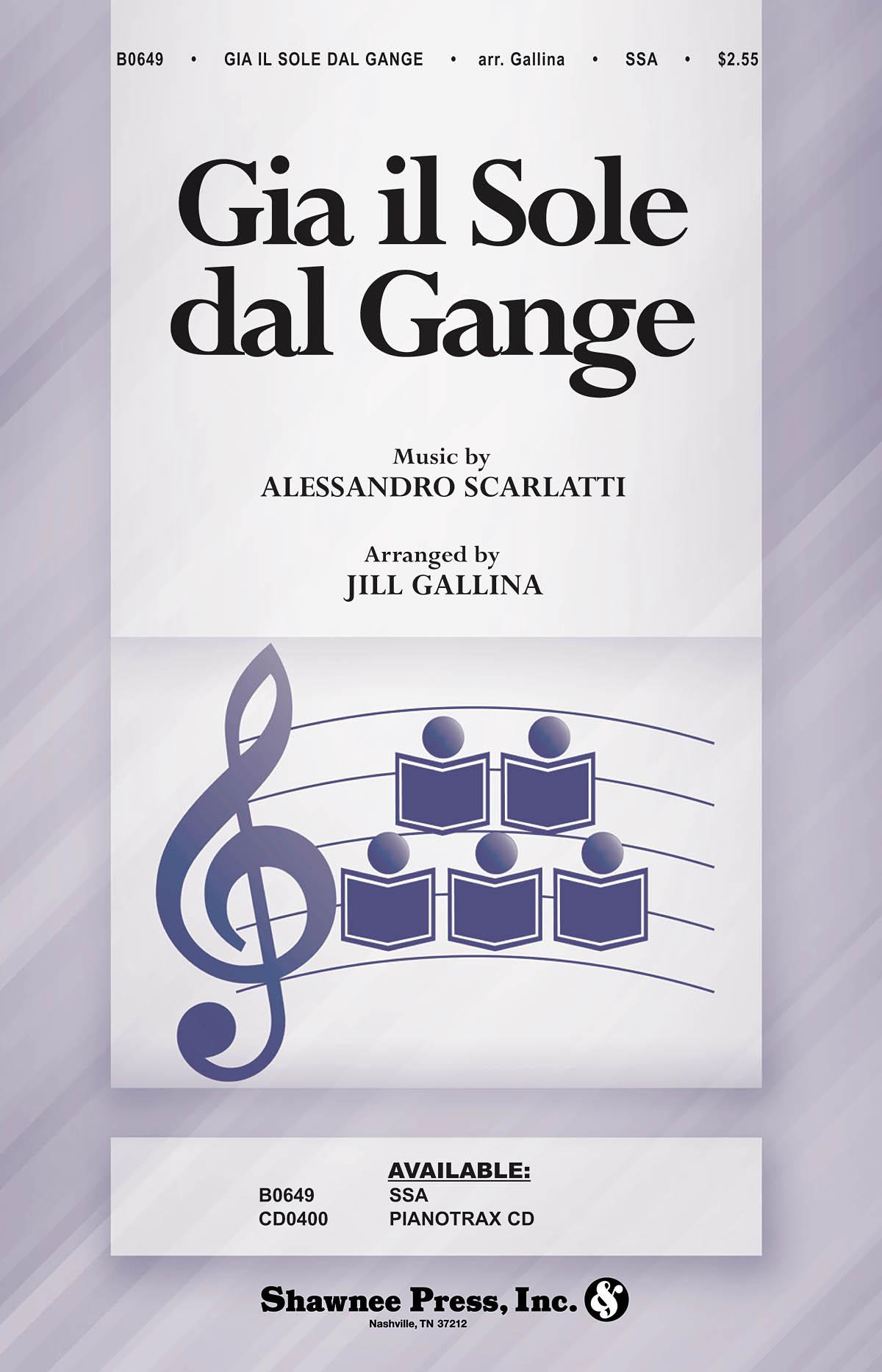 Alessandro Scarlatti: Gia il Sole dal Gange: SSA: Vocal Score