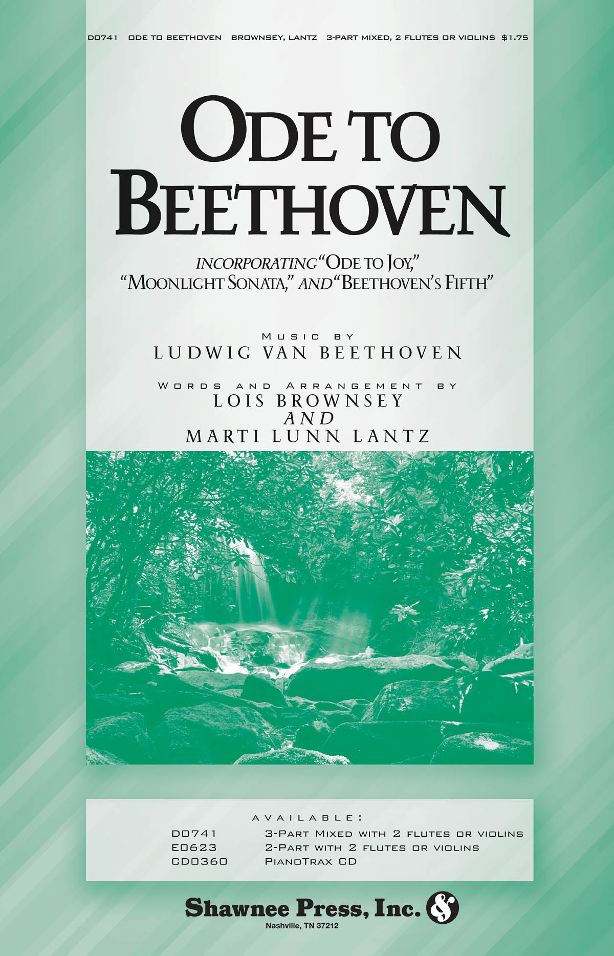 Ludwig van Beethoven: Ode to Beethoven: 3-Part Choir: Vocal Score