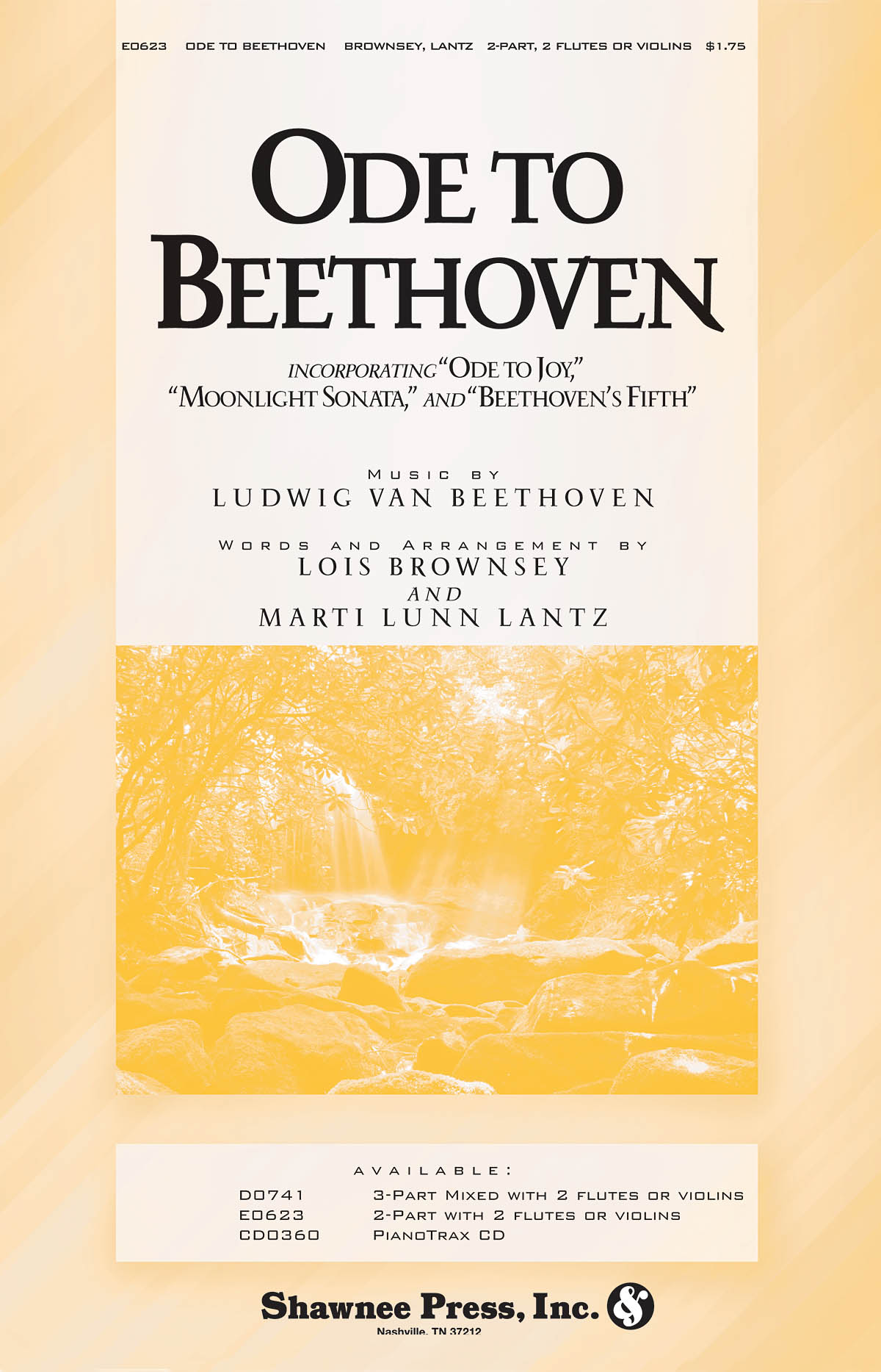 Ludwig van Beethoven: Ode to Beethoven: 2-Part Choir: Vocal Score