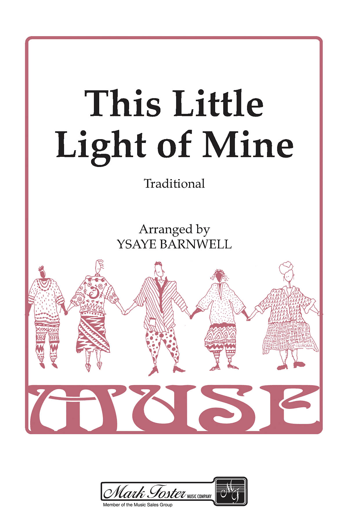 This Little Light of Mine: SSAA: Vocal Score