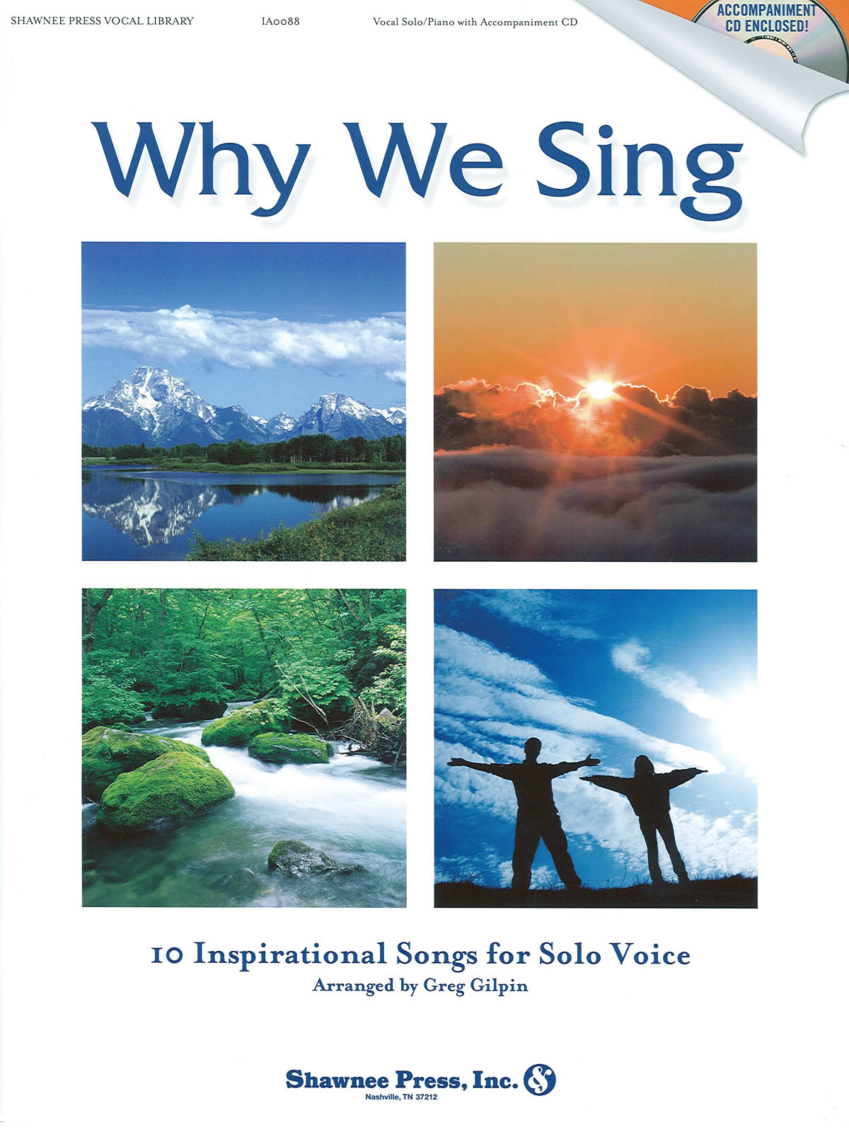 Greg Gilpin: Why We Sing: Vocal: Vocal Score