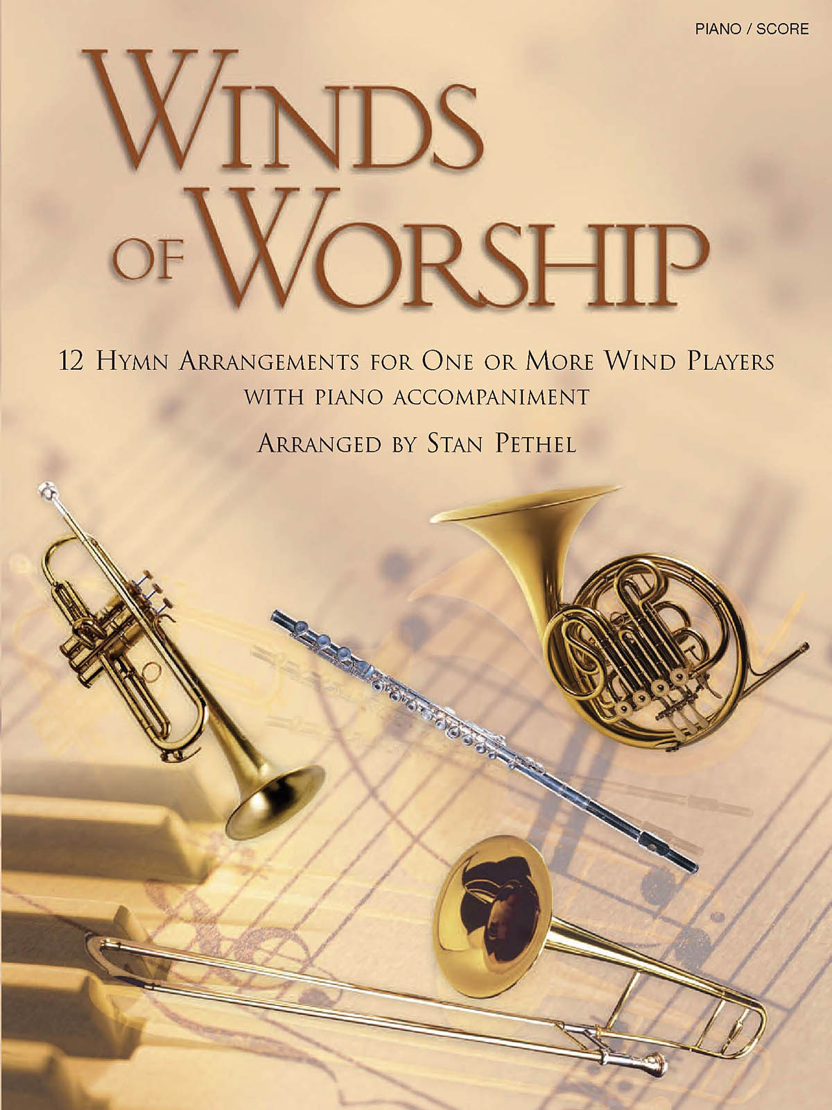 Winds of Worship: Piano: Score