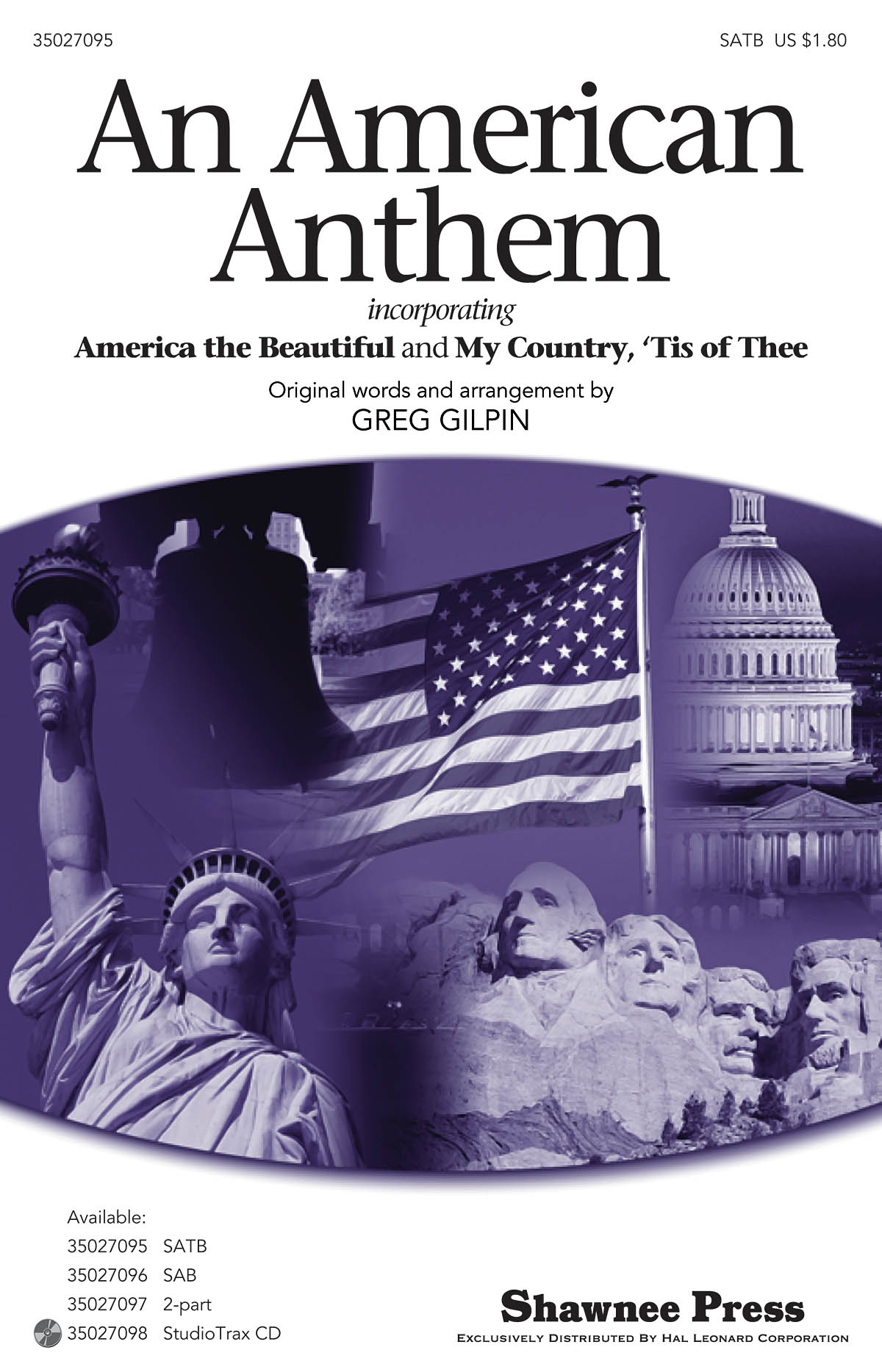 An American Anthem: SATB: Vocal Score