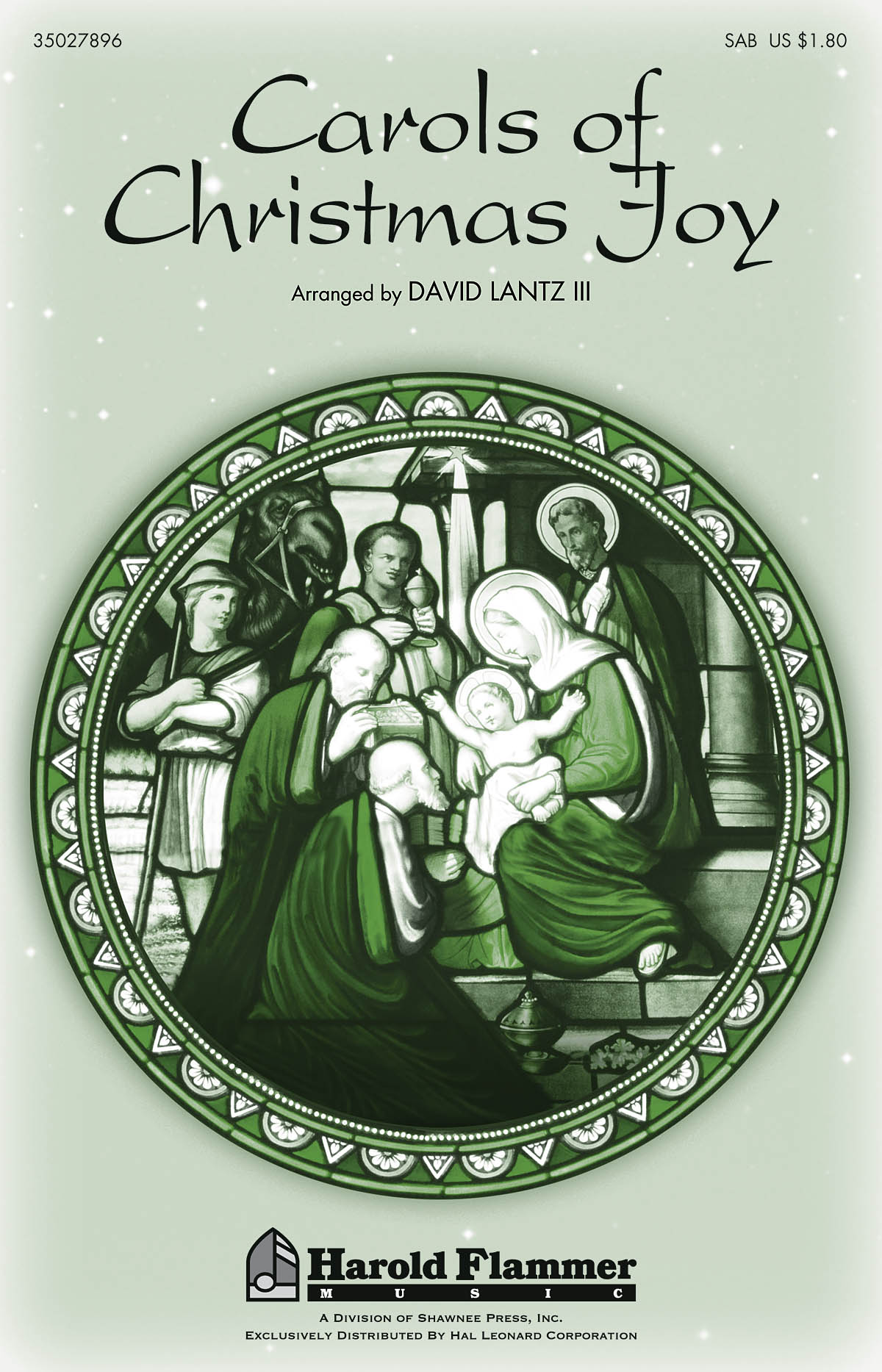 Carols of Christmas Joy: SAB: Vocal Score