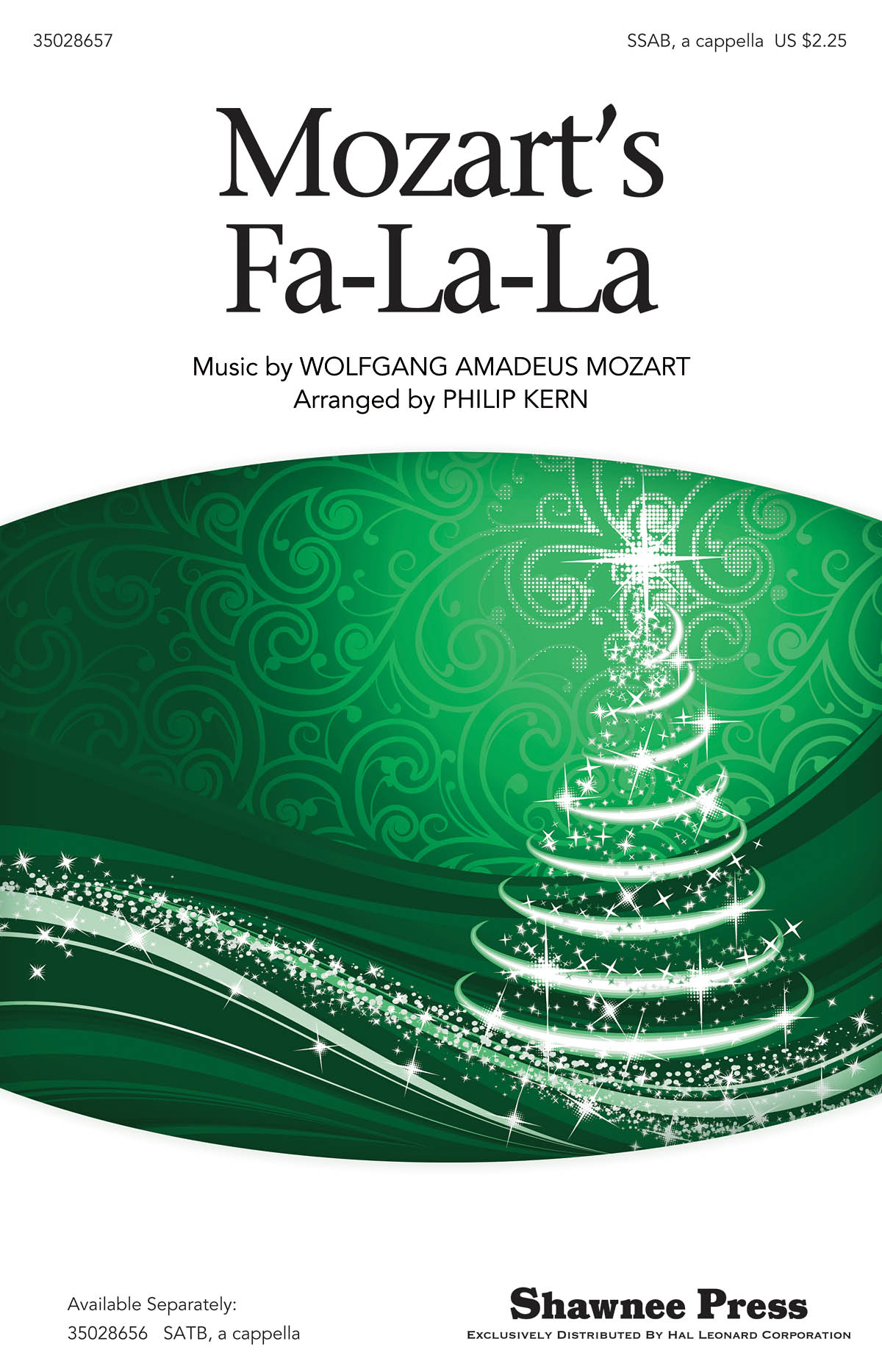 Wolfgang Amadeus Mozart: Mozart's Fa-la-la: Mixed Choir: Vocal Score