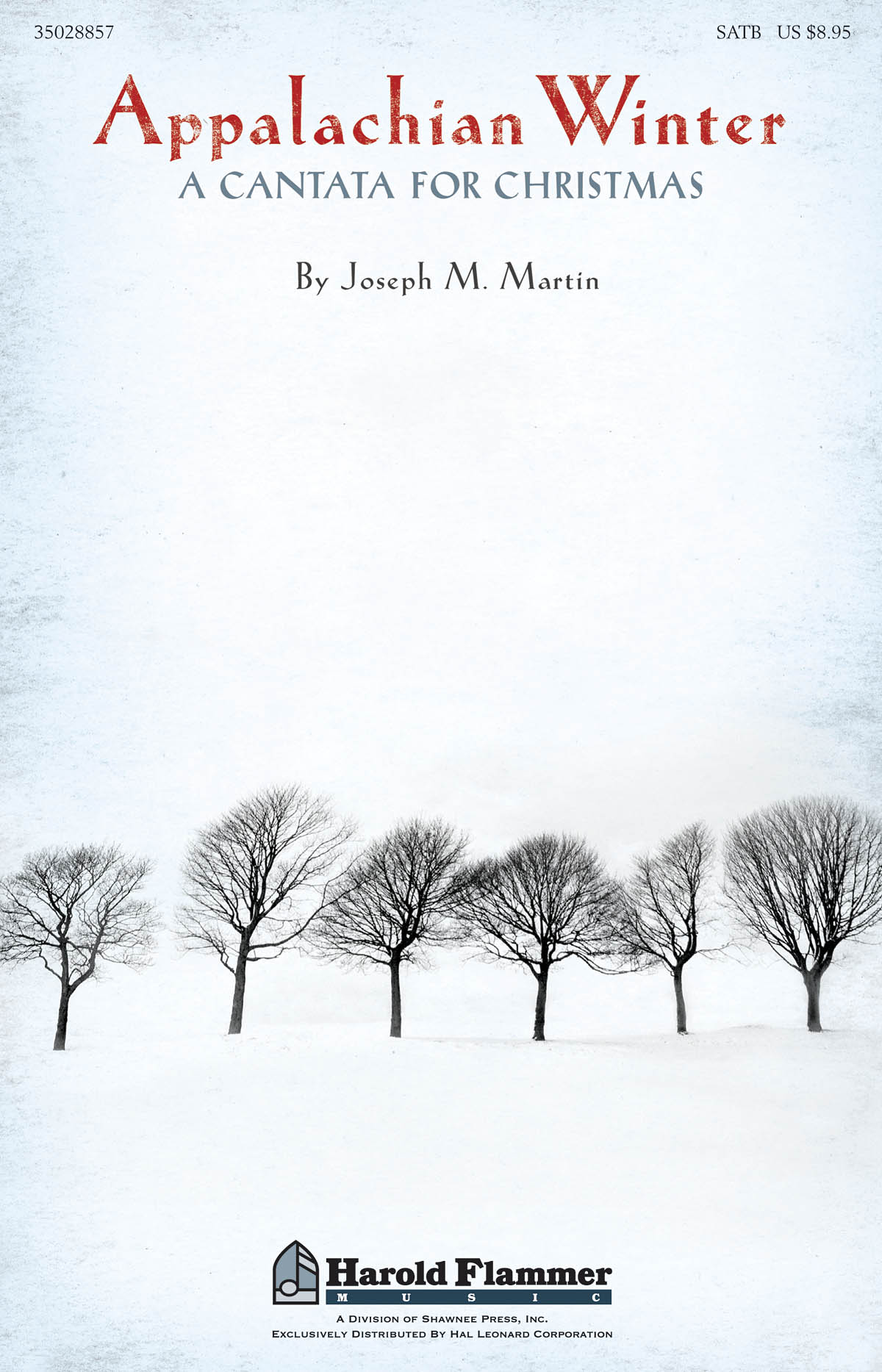 Joseph Martin: Appalachian Winter: SATB: Vocal Score